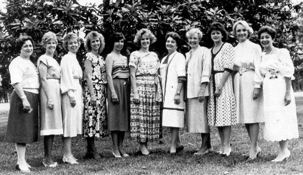 CWJF Founding Members in 1982