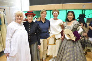 CWJF members participating in Petticoats and Parasols event